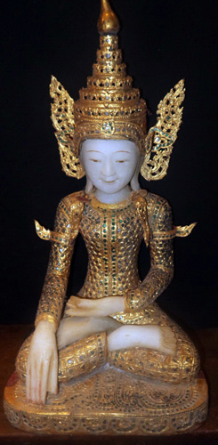 L6150-UP Buddha for shrine  Status : Available Click on picture for enlarge