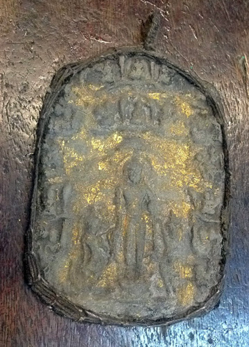 L6190-TR Votive Buddhist plaque  Status : Available Click on picture for enlarge