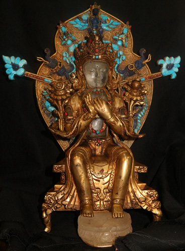 L6230-BT Buddha seated in a boat  Status : Inquire Click on picture for enlarge