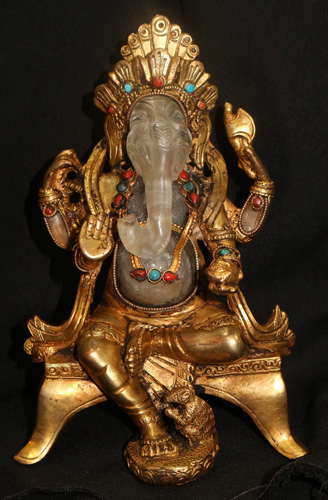 L6240-HA Sitting Ganesh  Status : Inquire Click on picture for enlarge