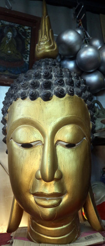 Giant Buddha's head