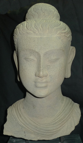 L6710-HM Head of Gandharan Buddha  Status : Inquire Click on picture for enlarge