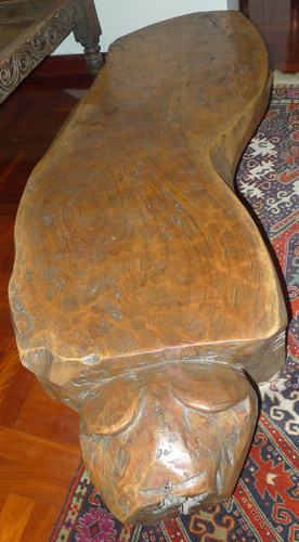 L6780-TR Carved piece of wood (tiger shape) - table  Status : Inquire Click on picture for enlarge