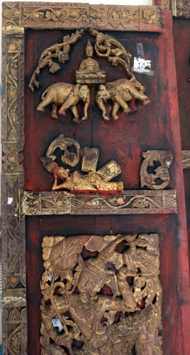 Pair of temple doors