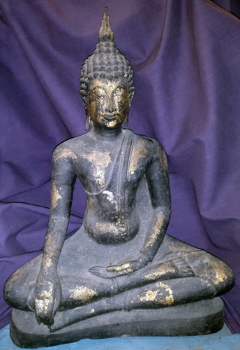 L7700-BL Sukhothai Buddha  Status : Inquire Click on picture for enlarge