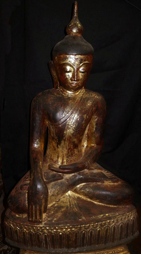 L7760-BJ Ava - Shan Buddha  Status : Inquire Click on picture for enlarge