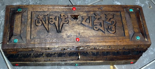 Box for vajrakila or anything else