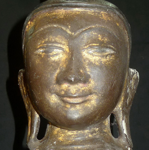 L8210-HM Shan Buddha's head  Status : Inquire Click on picture for enlarge