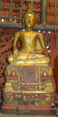 Lanna Buddha on base