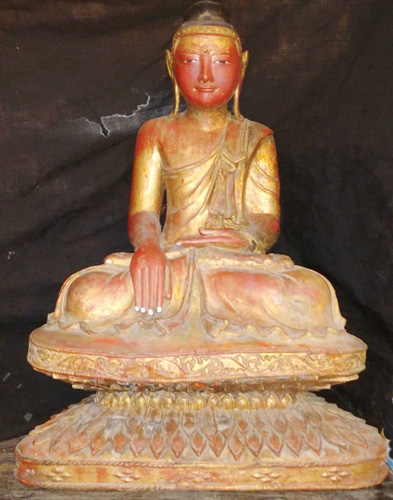 Mandalay Buddha on base