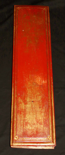 L9280-RE Complete kammavacca, Buddhist bible, 16 pages + 2 covers  Status : Inquire Click on picture for enlarge