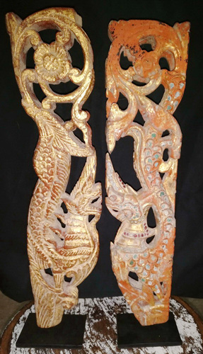 L9350-TB Pair of naga - tho naya  Status : Inquire Click on picture for enlarge