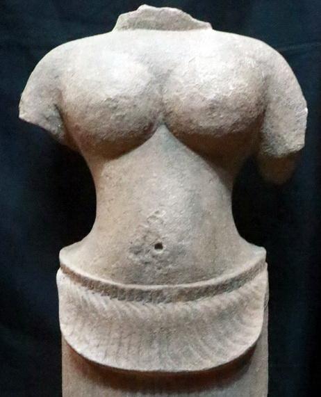 Khmer Buddha torso