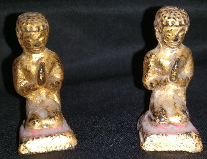 Pair of nats devotees amulets