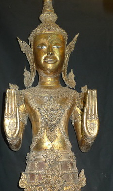 L9640-HT Ratchakan Ratanakosin Buddha  Status : Inquire Click on picture for enlarge