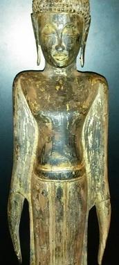 Typical Lao Buddha