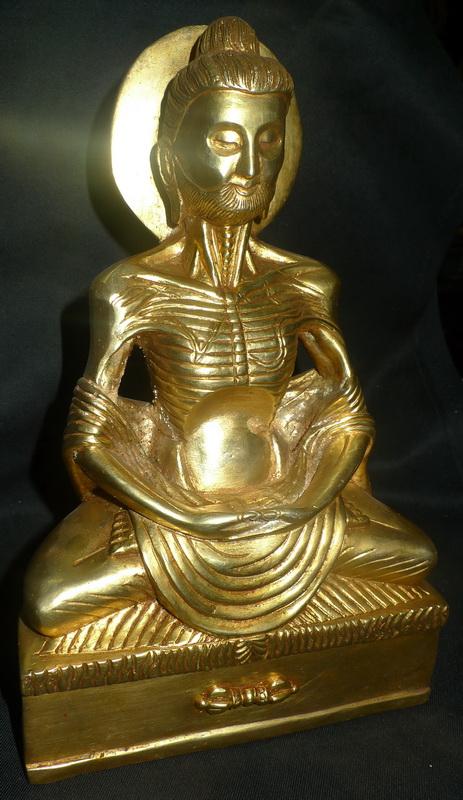 Exreme emaciated Buddha