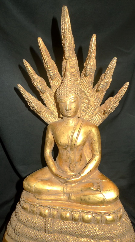 Buddha under 7 headed naga