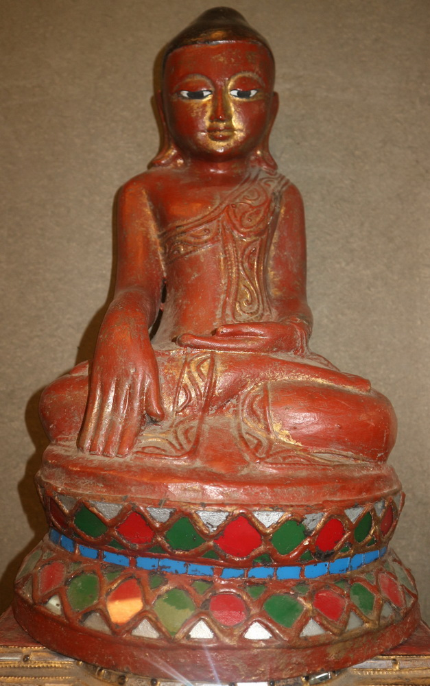 M0770-BB Burmese Buddha  Status : Inquire Click on picture for enlarge