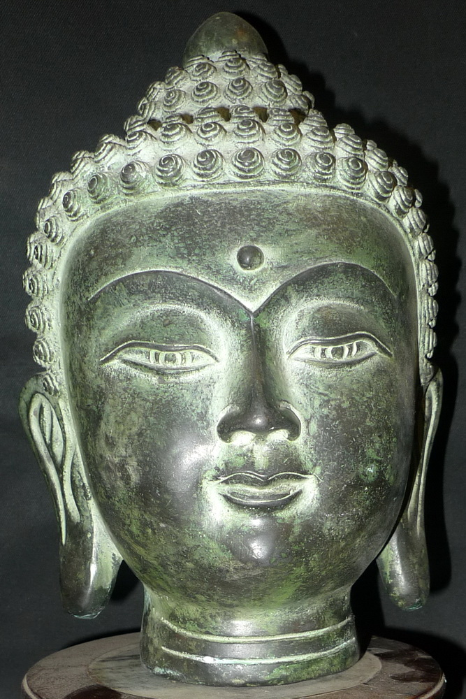 M1150-BH Buddha's head  Status : Inquire Click on picture for enlarge