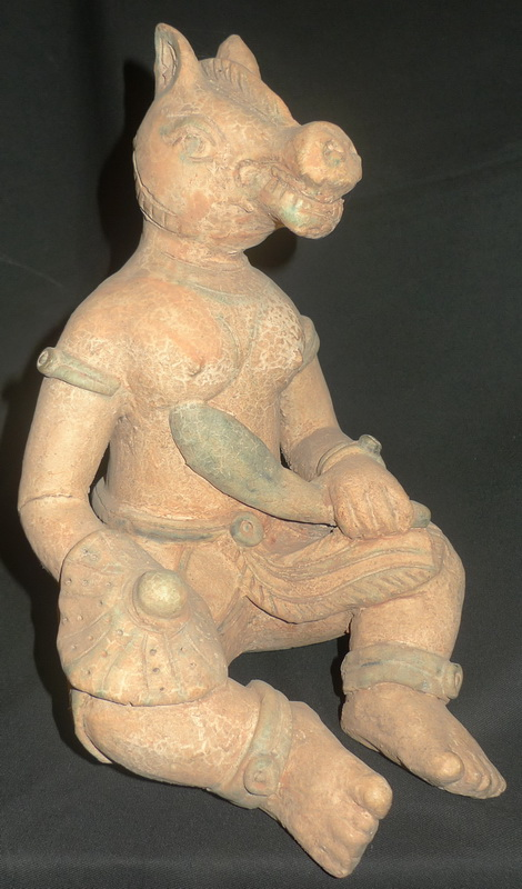 Animal headed deity