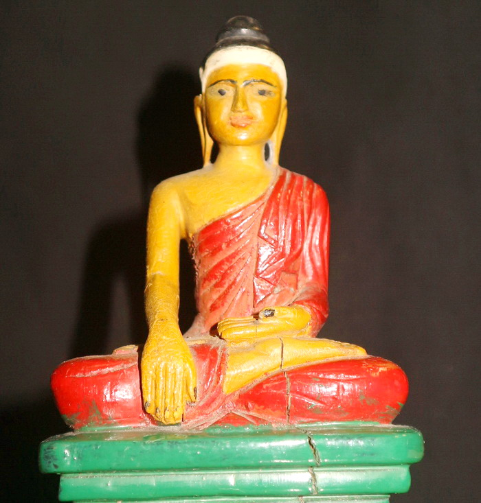 M1340-BB Burmese Buddha  Status : Inquire Click on picture for enlarge