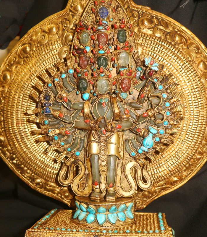M1360-HS 1000 armed avalokiteshvara  Status : Available Click on picture for enlarge