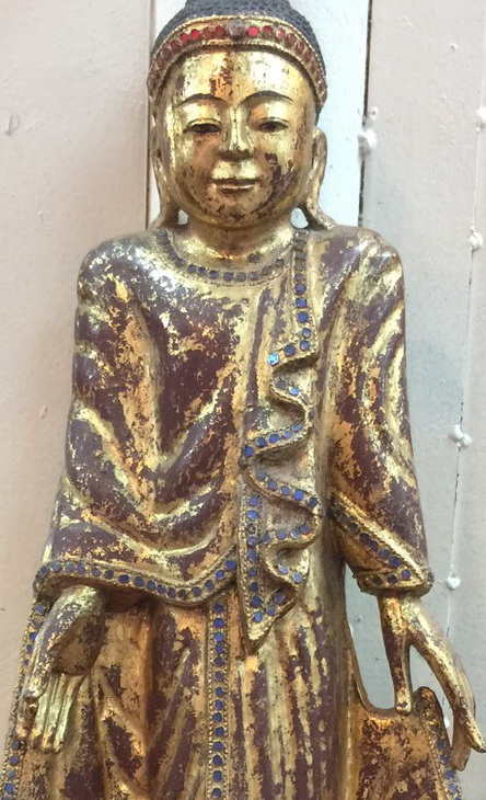 M1750-BB Mandalay Buddha  Status : Inquire Click on picture for enlarge