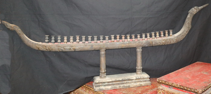 Temple candlestick