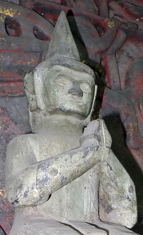 Lao folk Buddha