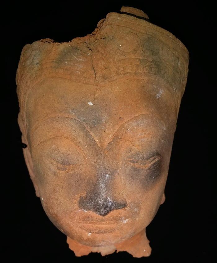 Ayutthaya Buddha's face