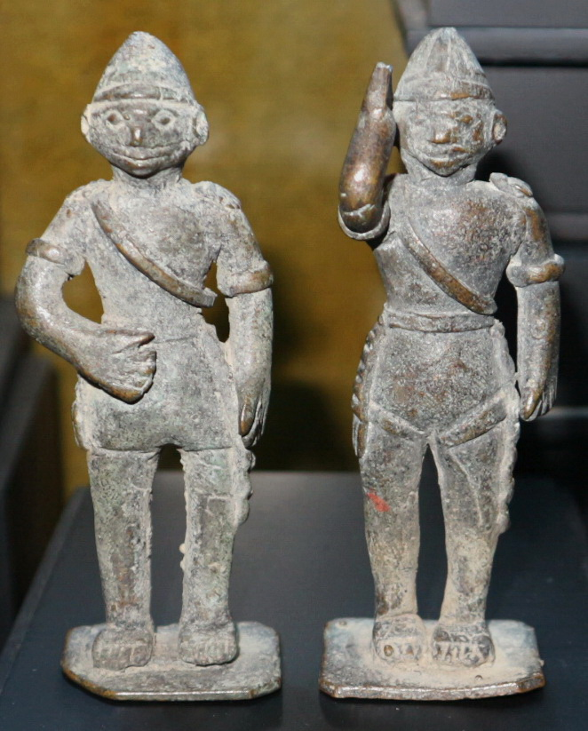 Pair of soldiers - Folk art