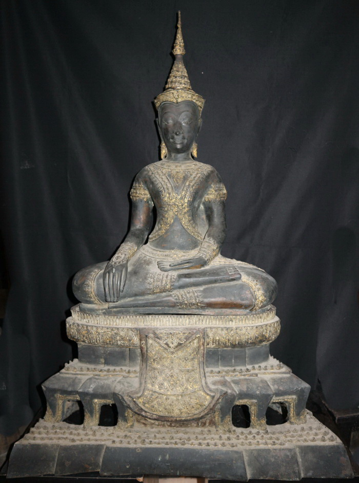 Ratanakosin Buddha on base