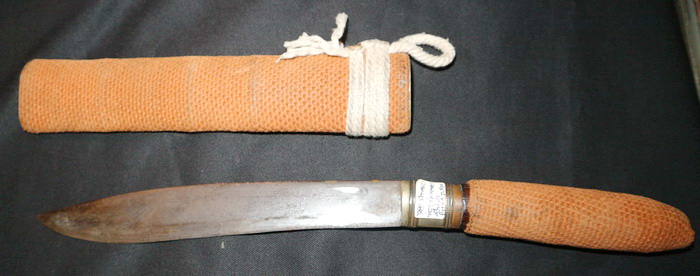 Traditional knife