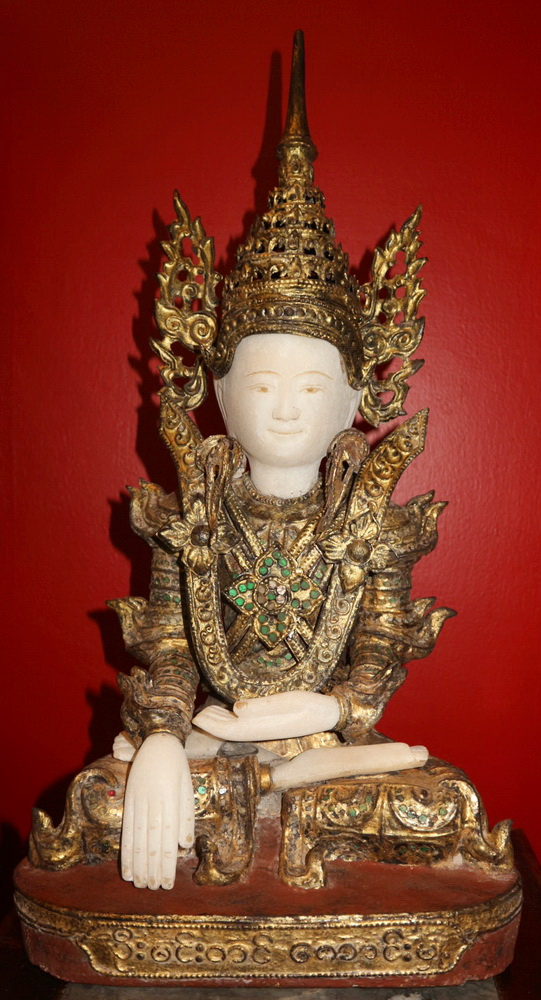 Burmese Buddha for shrine