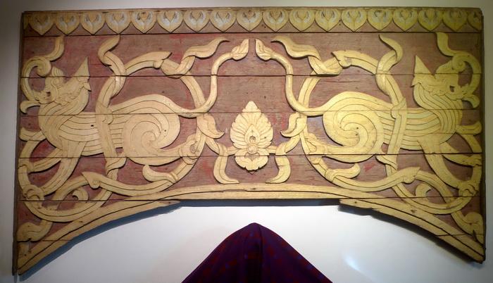 Temple pediment