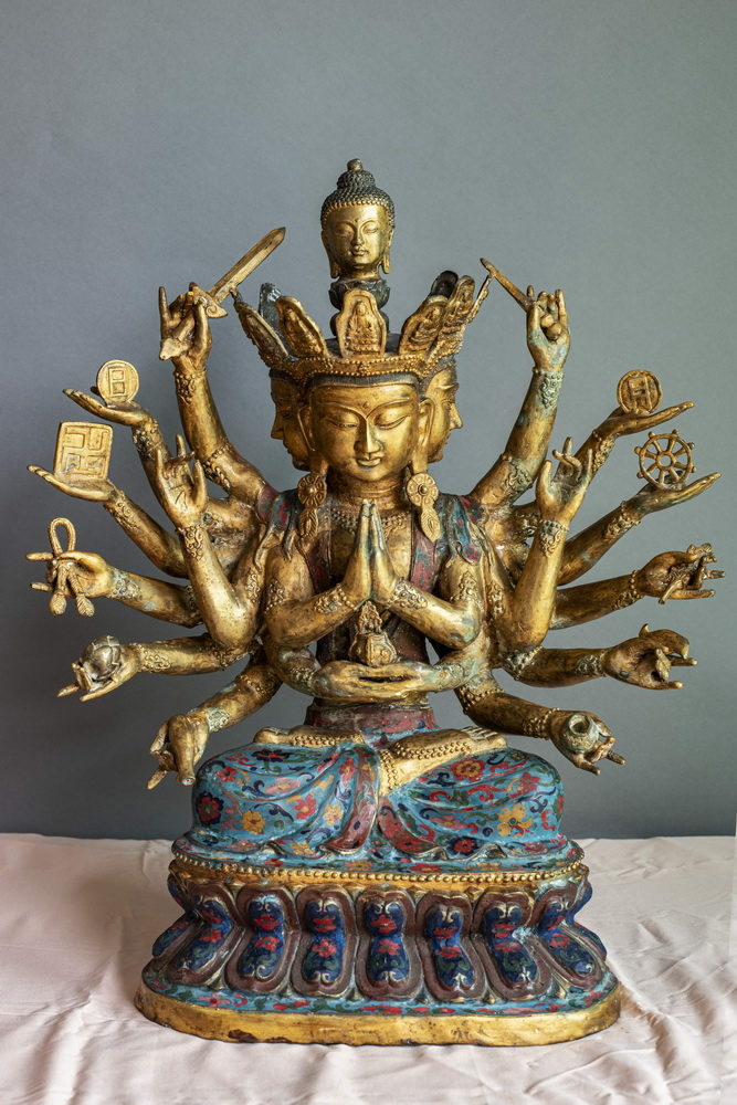 MAKE AN OFFER - Thousand arms Avalokiteshvara - Buddha