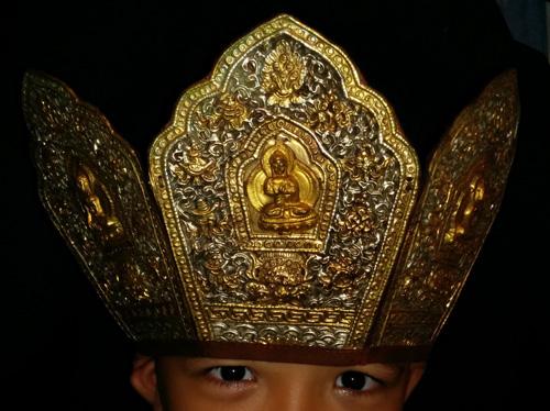 Five plaques shaman head-dress