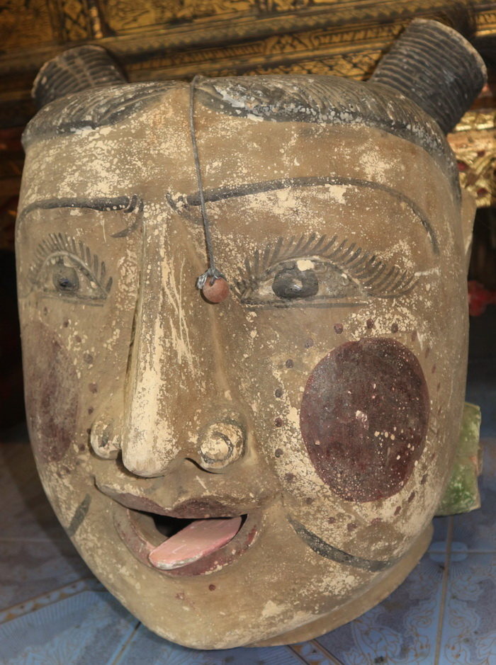 Giant Marionette head