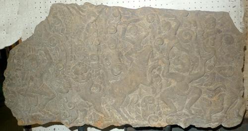 Khmer bas-relief