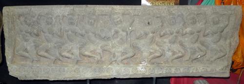 Khmer Amrita Mantana bas relief