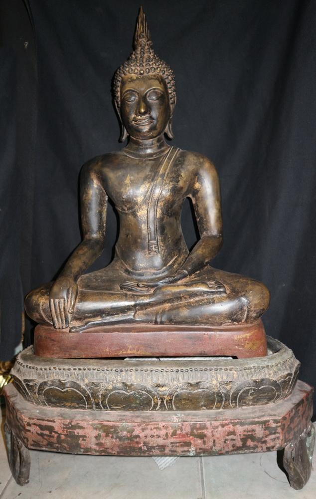Chieng Sen Buddha on base