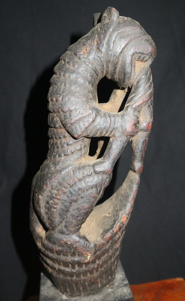 Carved tiger