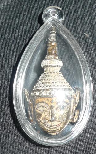 Ratanakosin amulet Buddha head