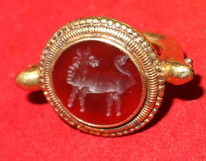 Mythological ring