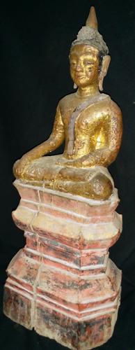 Lao Buddha on base