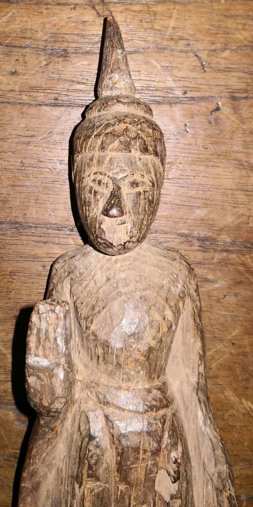 Standing Folk Lao Buddha