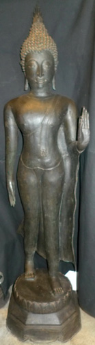 Sukhothai walking Buddha