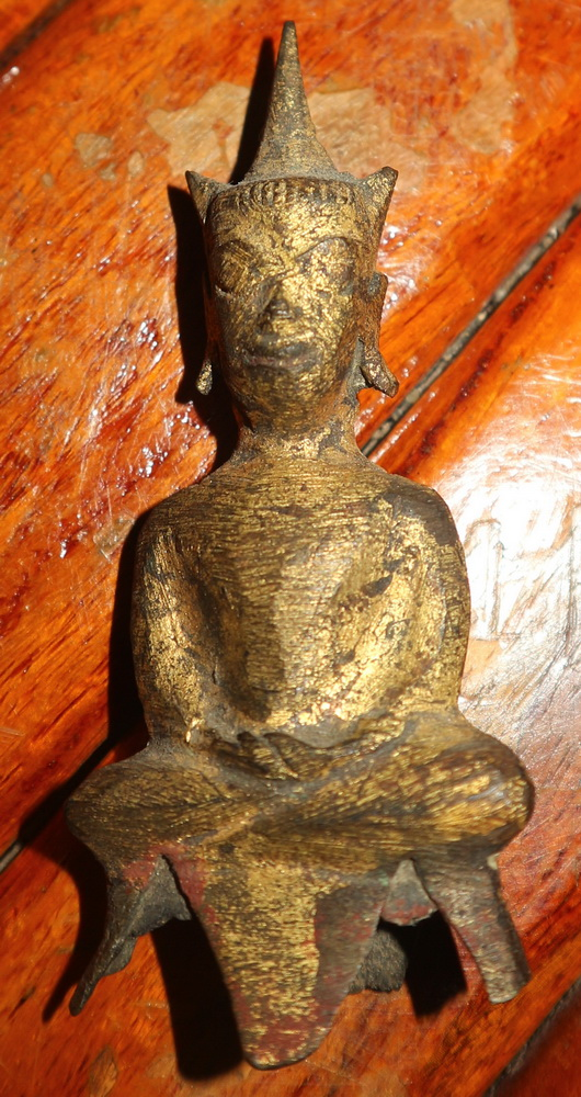Small Ayutthaya Buddha amulet, sold by one