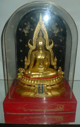 Buddha made to honor King Rama 9